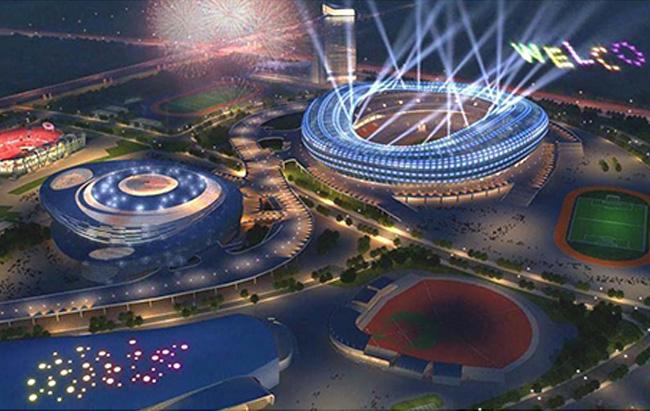 大連體育館(guan)景觀照明(ming)規劃